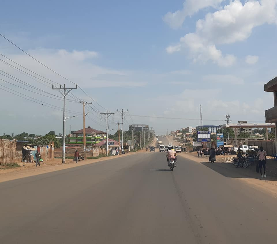 Paved Juba-Bilpam highway [Photo by Sudans Post]