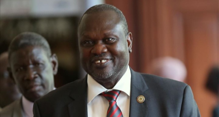 South Sudan's First Vice President Dr. Riek Machar Teny [Photo via Getty Images]