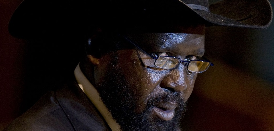 Salva Kiir, president of South Sudan, speaks during the 66th annual United Nations General Assembly at the UN in New York, U.S., on Friday, Sept. 23, 2011. [Photo Via Getty Images]