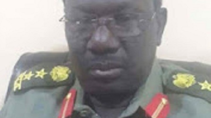 Photo: National Salvation Front (NAS) deputy chief of staff for logistics Gen. Khalid Ono