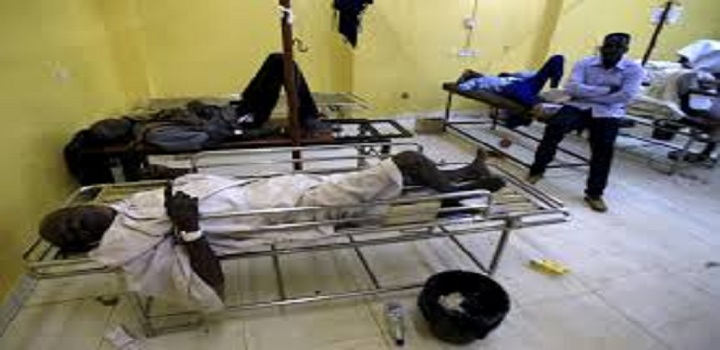 Photo: Coronavirus patients being hospitalized in the Sudanese capital Khartoum as coronavirus cases in South Sudan surge [Ccredit: Middle East Eye]