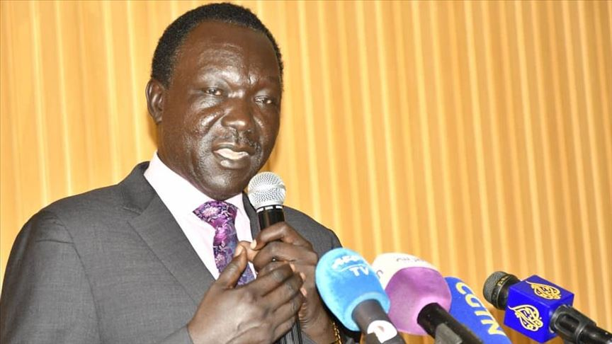 Photo: South Sudan government undersecretary in the ministry of health Dr. Makur Koriom