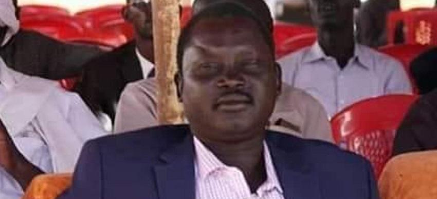 Secretary-General of NDM who is nominated for Jonglei state governorship Mahjuob Bile Turuk [Photo via Facebook]