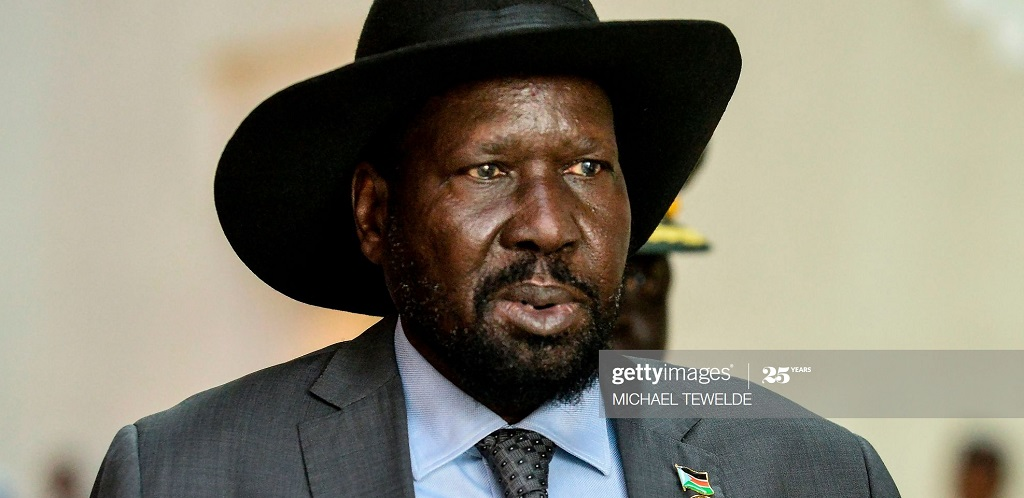 South Sudan President Salva Kiir Mayardit attends the 33rd Ordinary Session of the African Union Summit, at the AU headquarters in Addis Ababa, on February 10, 2020. [Photo via Getty Images]