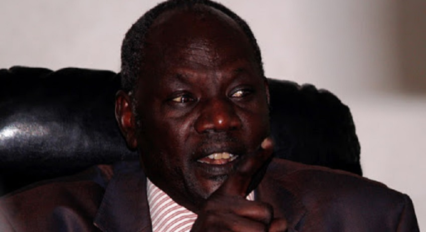 South Sudan information minister Michael Makuei Lueth (Photo credit is Unknown)