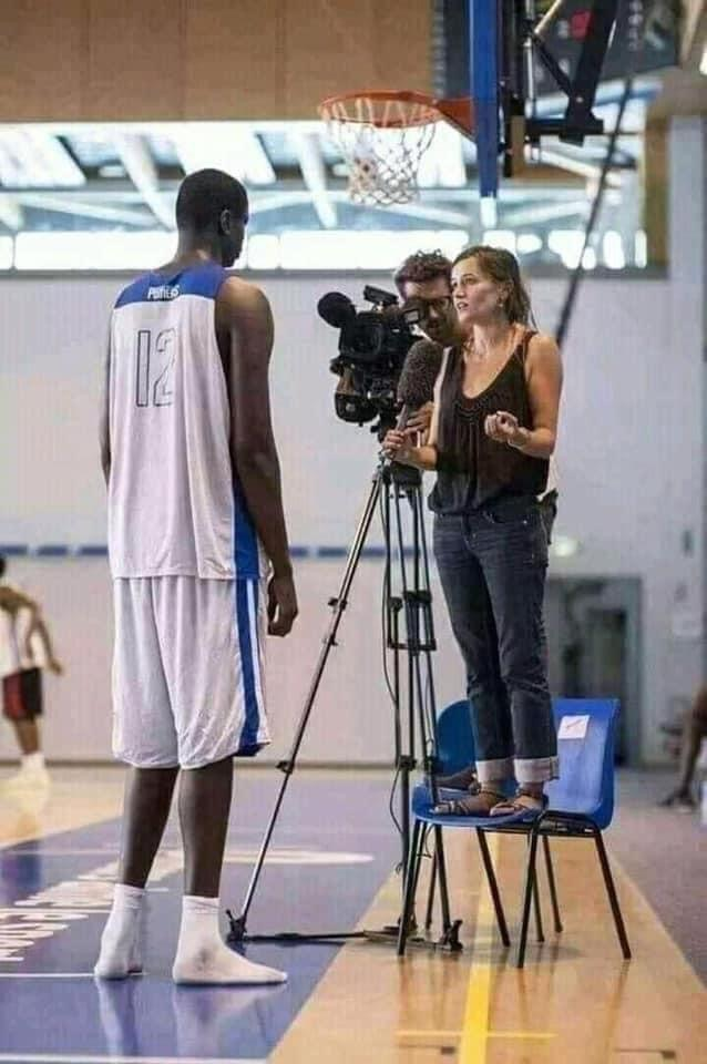 Basketball player from Dinka