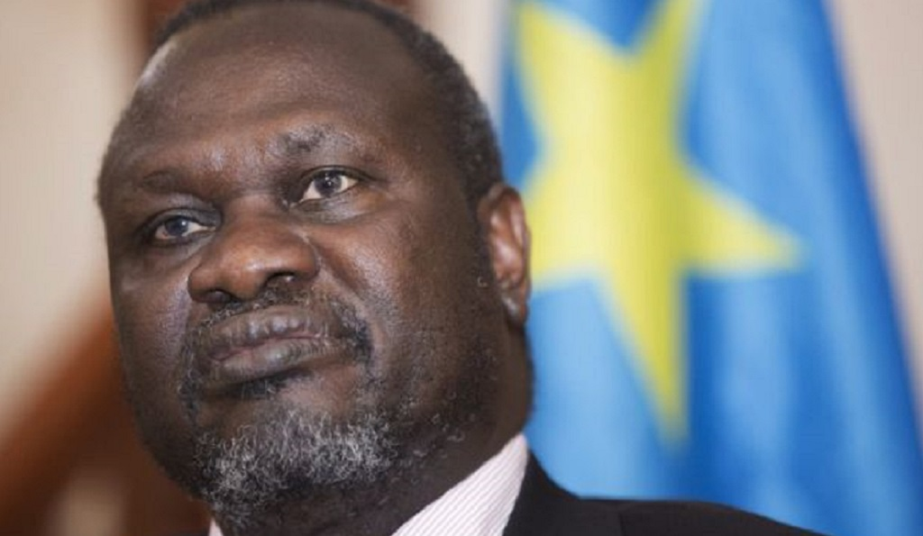 South Sudan First Vice President and SPLM-IO Chairman Dr. Riek Machar Teny [Photo via Getty Images]