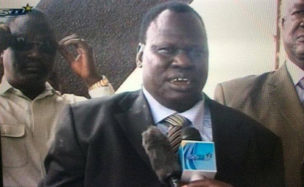 Former South Sudan commander of Riverine Forces General James Gai Yoach Dong [Photo by SSBC]