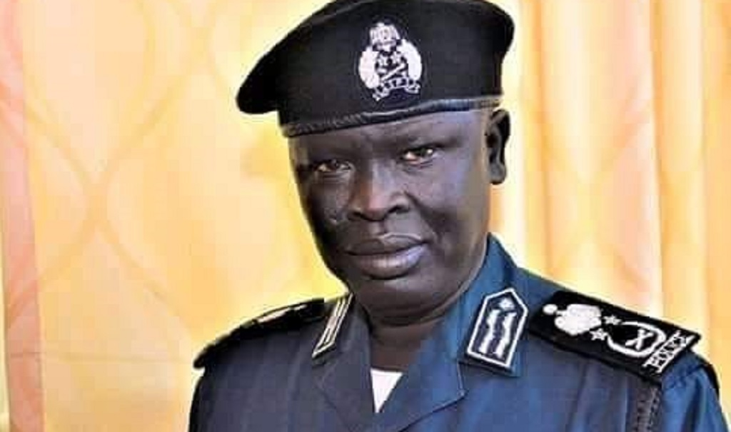 Inspector General of South Sudan Police Service (SSPS) Lt. Gen.  Majak Akech [Photo via Facebook]