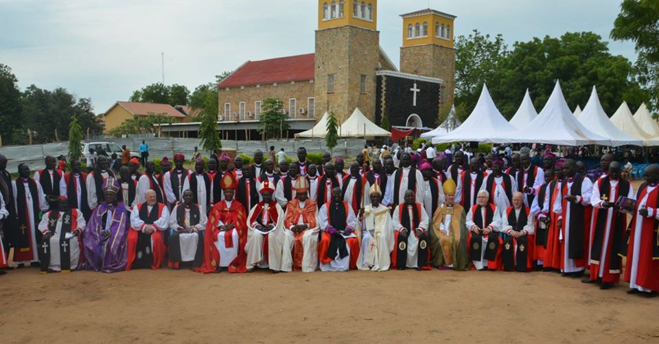 Bishops of the Central Equatoria Province of the Episcopal Church [Photo via Facebook]