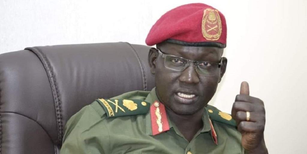 South Sudan army spokesman Major General Lul Ruai Koang [Photo via Facebook]