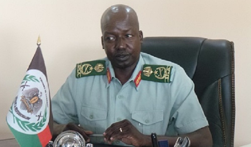 Chairman of South Sudan's holdout opposition group, National Salvation Front (NAS), General Thomas Cirilo Swaka [Photo by unknown]