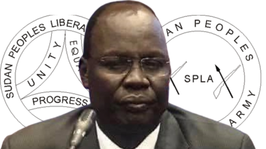 Former SPLM-IO governor of Sobat state and senior member of the SPLM-IO Duer Tut Duer [Photo by Sudans Post]