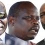 Holdout opposition leaders, General Paul Malong, Pagan Amum and General Thomas Cirilo Swaka [Photo designed by Sudans Post]
