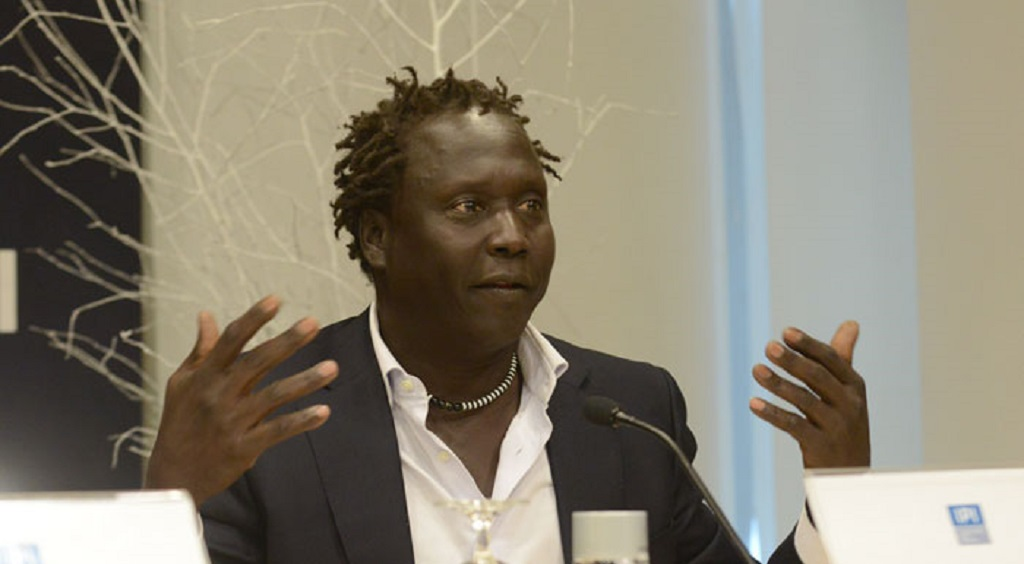 Jok Madut Jok, co-founder of Sudd Institute and professor of anthropology at Maxwell School of Citizenship and Public Affairs, Syracuse University [Photo credit is unknown]