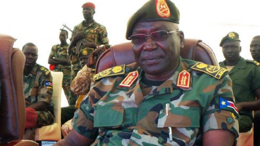 South Sudan former army chief and leader of South Sudan United Front/A (SSUF/A) General Paul Malong Awan [Photo via The New Times]