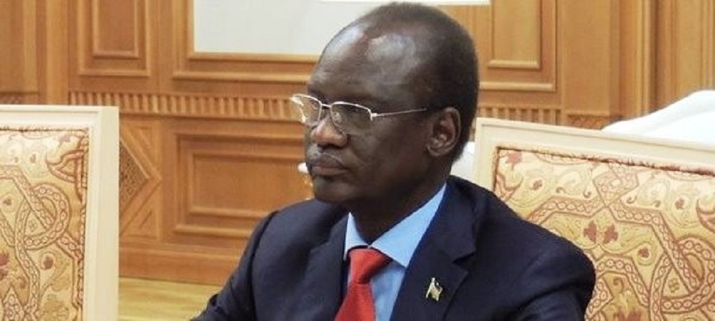 Former South Sudan ambassador to Russia and member SPLM-IO Telar Ring Deng [Photo by unknown]