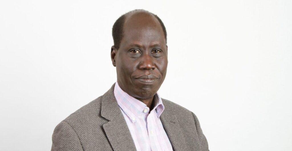 Vice-Chancellor of the University of Juba Professor John Akech [Photo via Facebook]