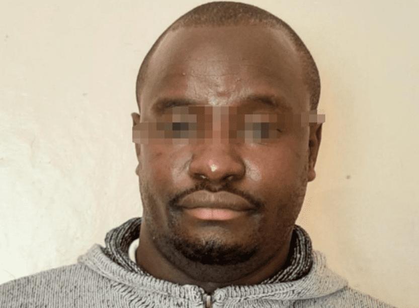 Aarafat Ikimu alias Rashid Koweh Bin Omar who was arrested on September 12, 2020 for impersonating Sudanese Army General. [Photo courtesy]