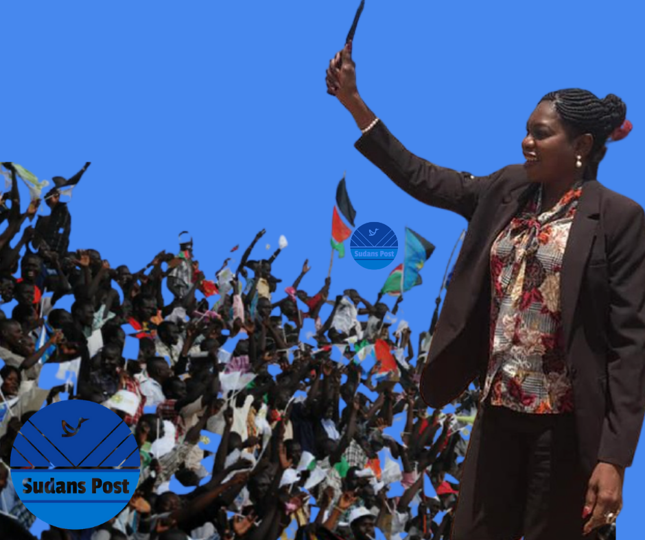 Sarah Cleto Hassan Rial, the governor of Western Bahr el Ghazal state [Photo by Sudans Post]