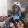 Mabior Garang addresses reporters in Addis Ababa, May 23, 2018 [Photo by Eye Radio]