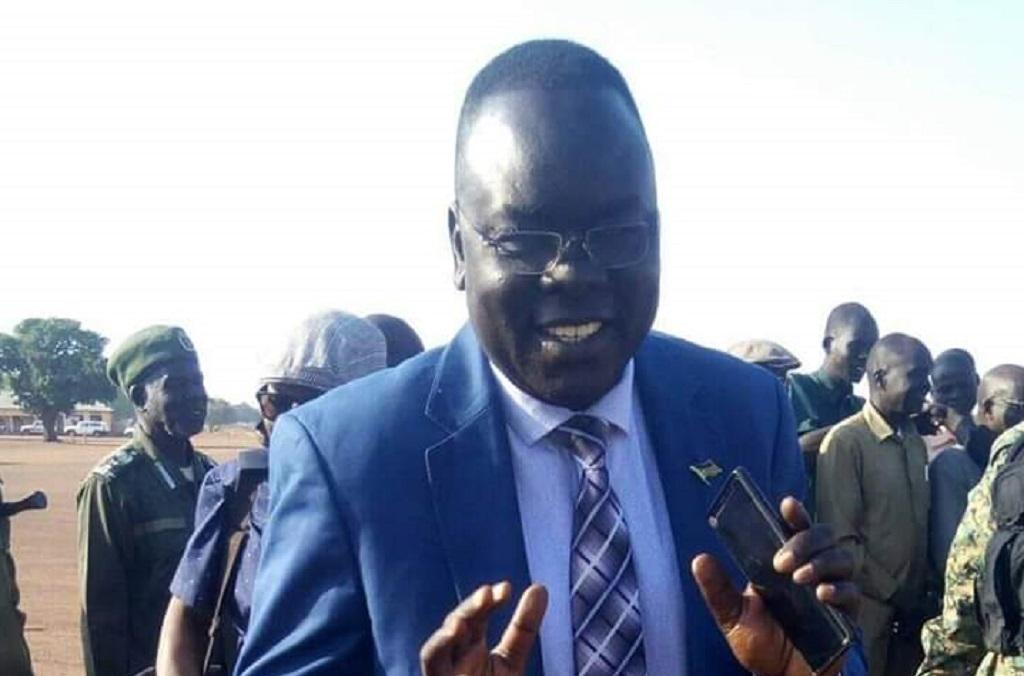 Former Governor of Western Lakes state Mahmud Solomon [Photo via PaanLuel Wel]