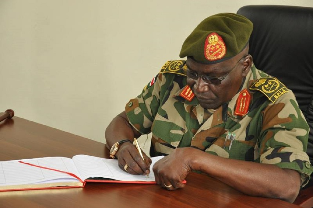 Former South Sudan army Chief and leader of South Sudan United Front/A General Paul Malong Awan Anei [Photo via Facebook]