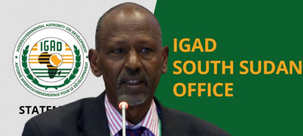 IGAD Special Envoy for South Sudan Ismail Wais [Photo by IGAD/GETTY IMAGES]