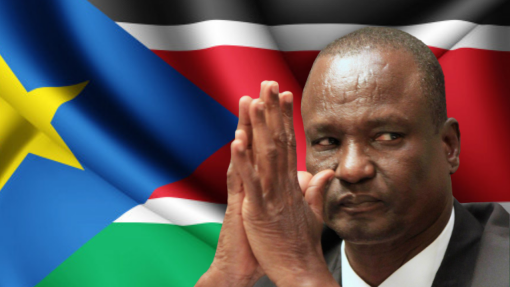 South Sudan vice-president for infrastructure cluster General Taban Deng Gai [Photo designed by Sudans Post]