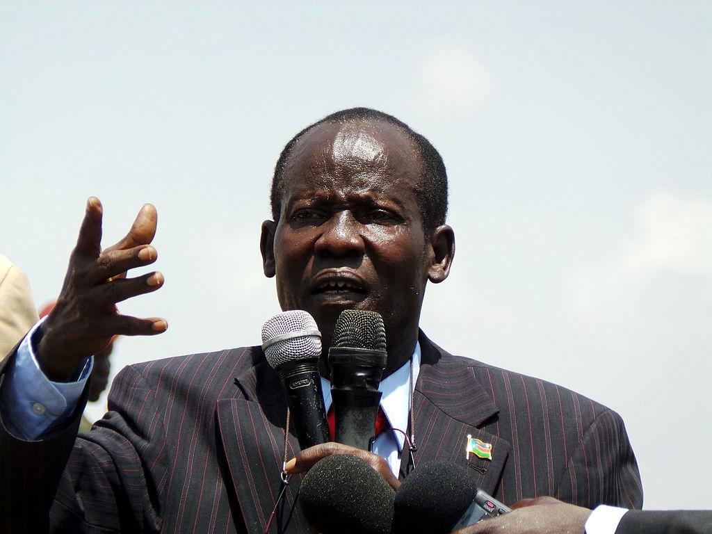 Vice-president James Wani Igga [Photo by Getty Images]