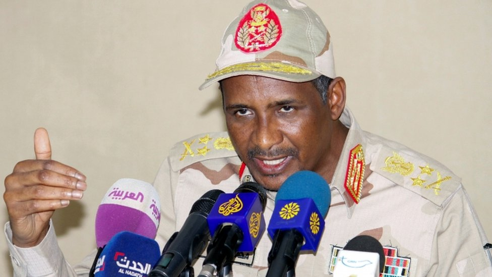 Vice-President of Sudan Transitional Sovereign Council General Mohamed Hamdan Dagalo [Photo by Reuters]