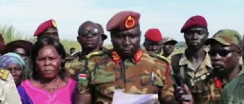 Former SPLA-IO commander Major-General Moses Lokujo [Photo via Facebook]