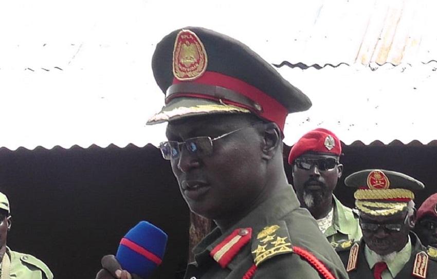 SPLA-IO military spokesman William Gatjiath Deng [Photo by Sudans Post]