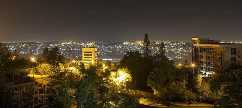 Juba city at night [Photo via Facebook]