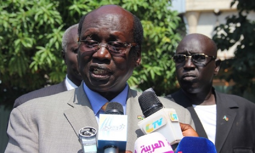 South Sudan presidential envoy and head of government team at peace talks in Rome, Barnaba Marial Benjamin [Photo by unknown].