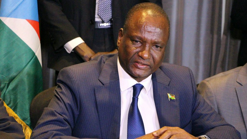 South Sudan's First Vice President, Taban Deng Gai. [Photo by Getty Images]
