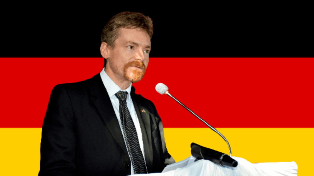 Germany's ambassador to South Sudan, Amb. Manuel Müller. [Photo courtesy of the German Embassy in Juba]