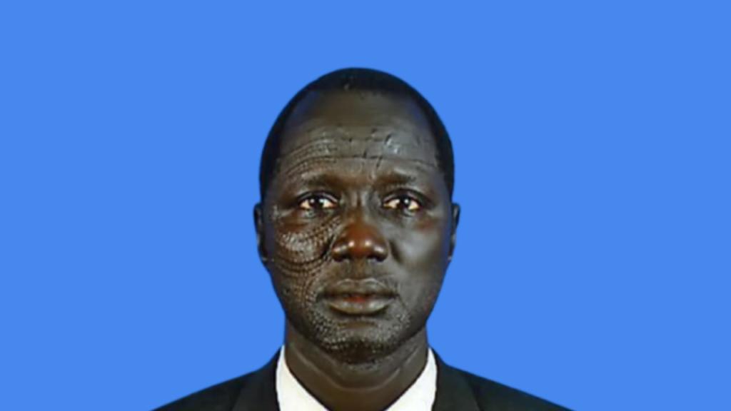 Former Rubkona County Commissioner Eng. William Gatjang Ging [Photo via Facbook]