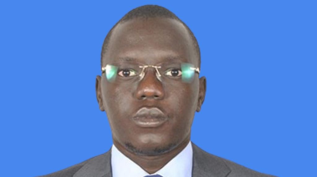 South Sudanese journalist Roger Alfred Yoron Modi [Photo courtesy of the author]