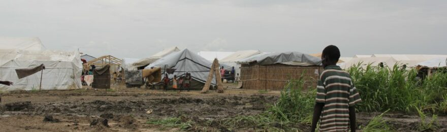 An internally displaced man seen at Bentiu POC site [Photo by UN]