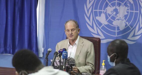 UN Special Representative of the Secretary-General and head of UN mission in South Sudan, David Shearer [Photo by UNMISS]