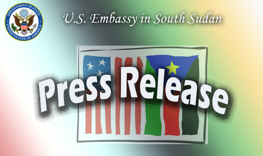 US embassy press release illustration [Photo by US embassy in Juba]