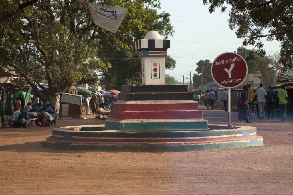 Round about in Rumbek town, Lakes state [Photo via Medium]