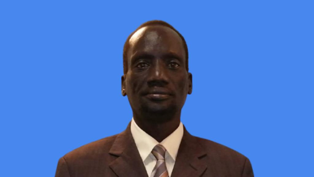 Senior member of South Sudan Opposition Movements Alliance - Cirilo (SSOMA-Cirilo) Deng Vanang [Photo by Sudans Post]