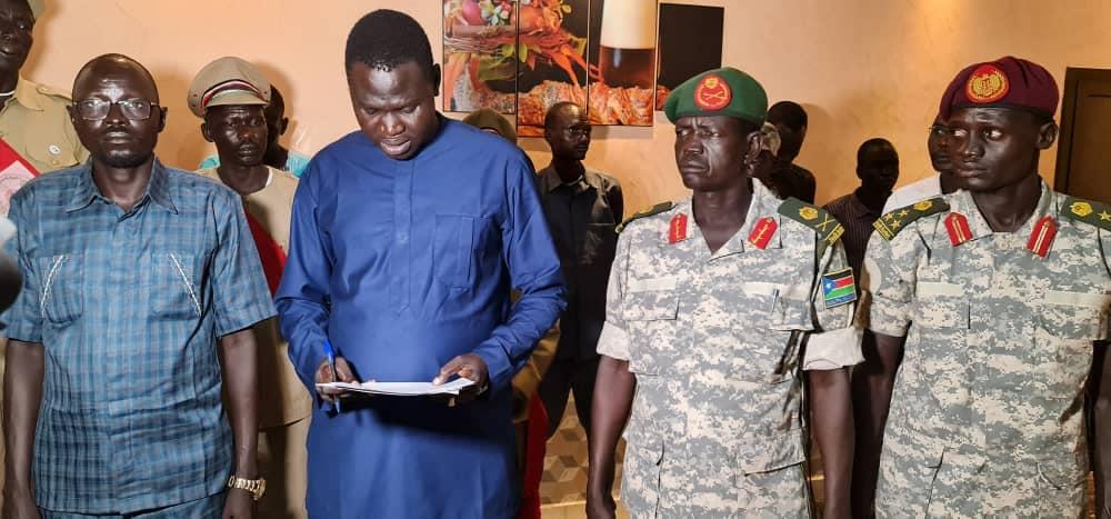 Members of Lou-Nuer in SPLM-IO [Photo via Facebook]