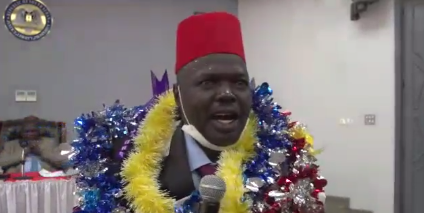 Newly appointed Upper Nile state governor Abudhok Ayang [Photo by Sudans Post]