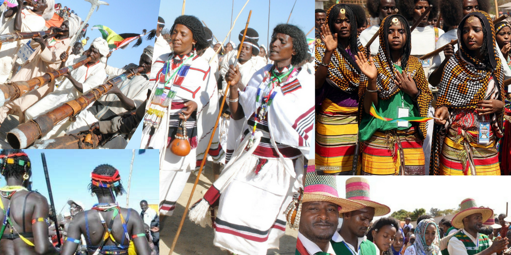 Ethiopia is an ethnic diverse country with over 80 different ethnic groups [Photo via ADDIS STANDARD]