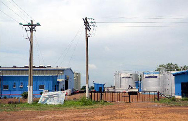 The new power station in Juba [Photo by Eye Radio]
