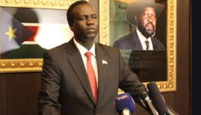 Former South Sudan deputy information minister Akol Paul [Photo by unknown]