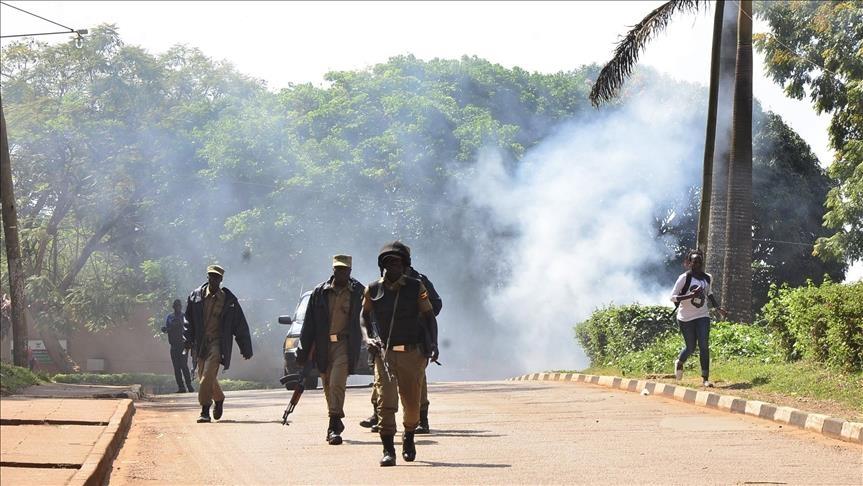 SSPDF soldiers in Uganda [Photo via Anadolu]